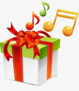 プレゼント音符1