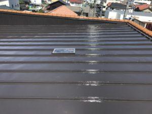 S様邸屋根塗装工事