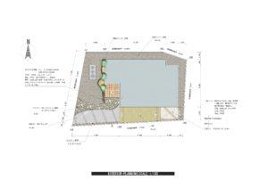 外構一式工事(ガーデンルーム、オリジナル門柱) ¥1,500,000
