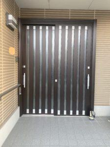 三協アルミ ノバリスで玄関をリフォームしました!