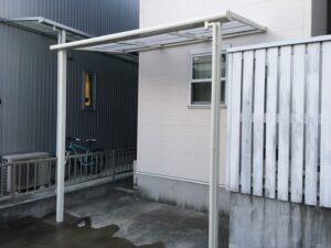自転車置き場用のテラス屋根